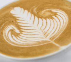 cappuccino decorato